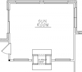 Esther Sunroom Floorplan