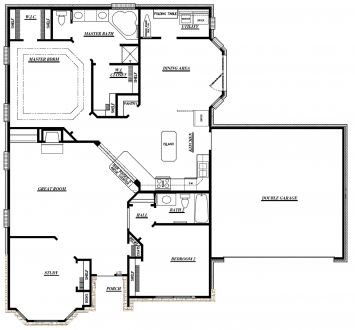 Ruby II floor plan